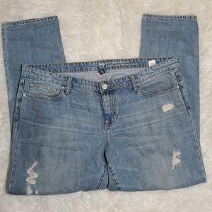GAP sexy boyfriend fit jeans 18 34R